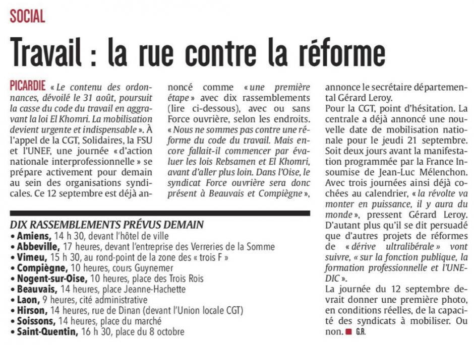 20170911-CP-Picardie-Travail : la rue contre la réforme
