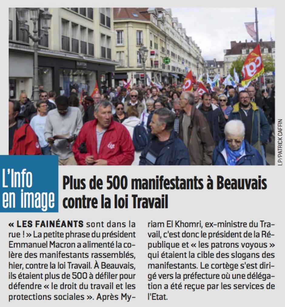 20170913-LeP-Beauvais-Plus de 500 manifestants à Beauvais contre la loi Travail