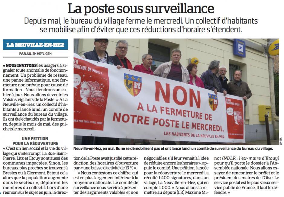 20170913-LeP-La Neuville-en-Hez-La Poste sous surveillance