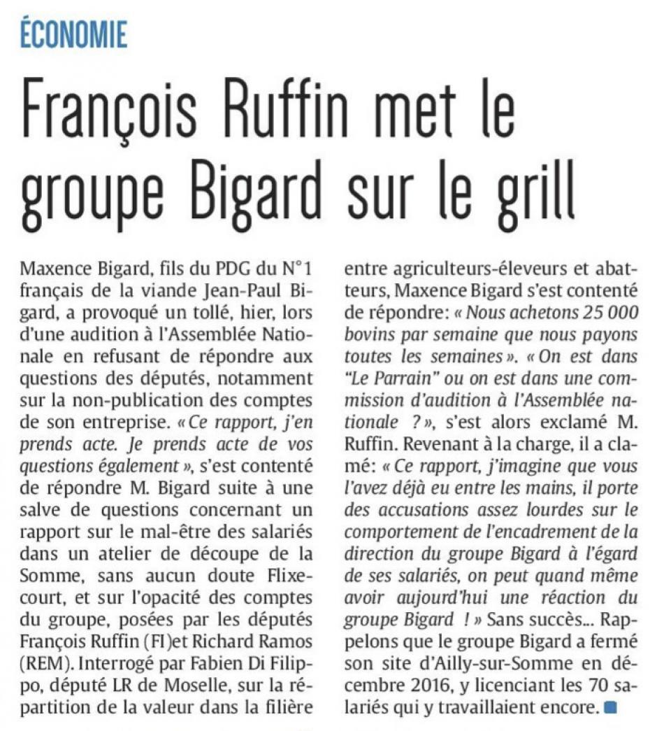 20170915-CP-France-François Ruffin met le groupe Bigard sur le grill [édition Amiens]