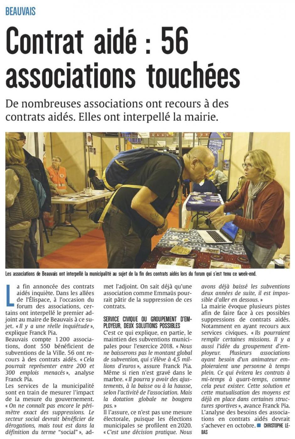 20170918-CP-Beauvais-Contrat aidé : 56 associations touchées