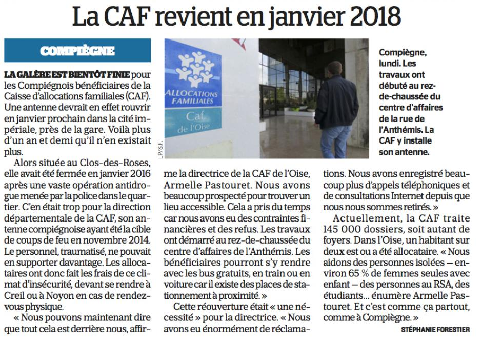20170919-CP-Compiègne-La CAF revient en janvier 2018