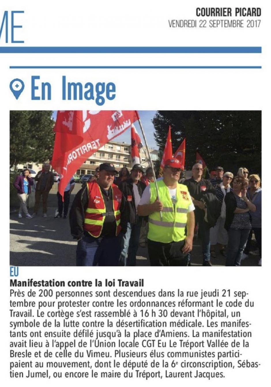 20170922-CP-Eu-Manifestation contre la loi Travail [édition Picardie maritime]