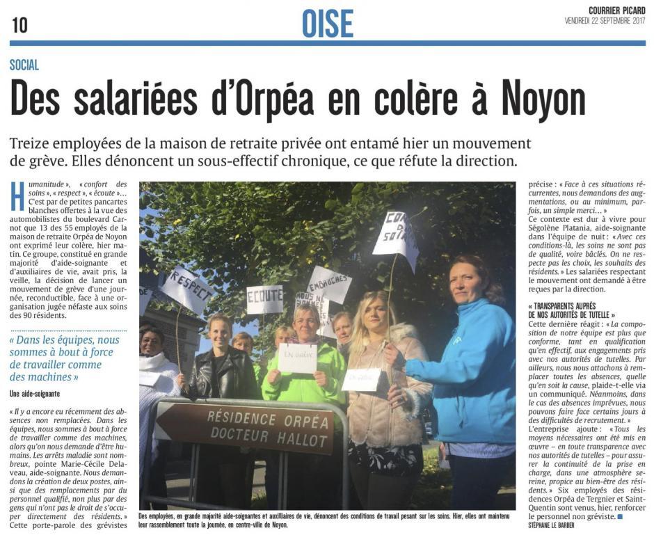 20170922-CP-Noyon-Des salariées d'Orpéa en colère
