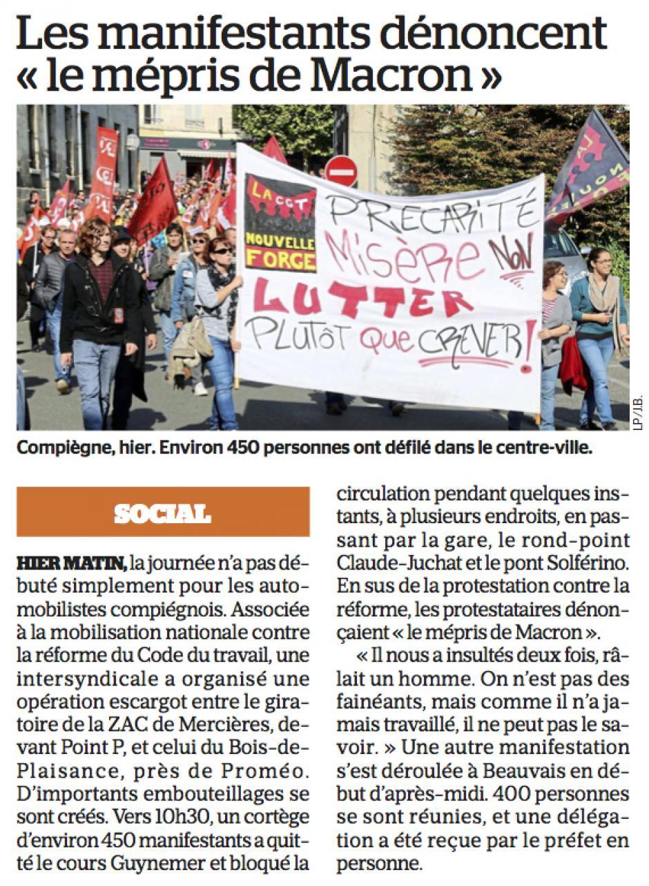 20170922-LeP-Oise-Les manifestants dénoncent « le mépris de Macron »