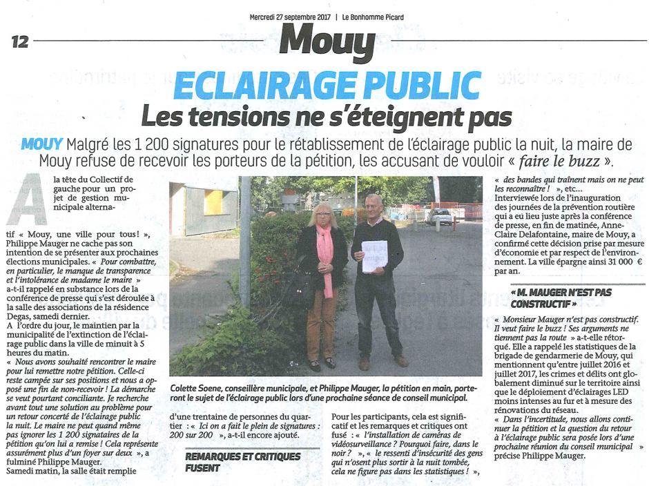 20170927-BonP-Mouy-Éclairage public : les tensions ne s'éteignent pas
