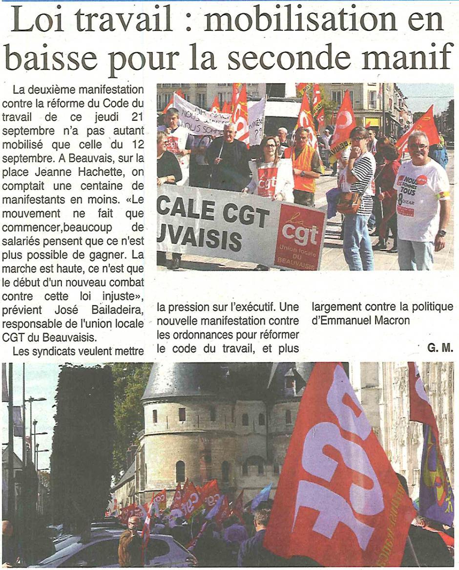 20170927-OH-Beauvais-Loi Travail : mobilisation en baisse pour la seconde manif