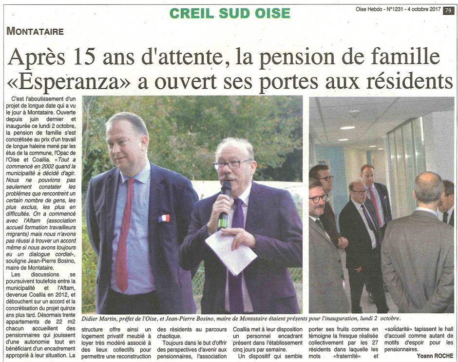 20171004-OH-Montataire-Après quinze ans d'attente, la pension de famille « Esperanza » a ouvert ses portes aux résidents