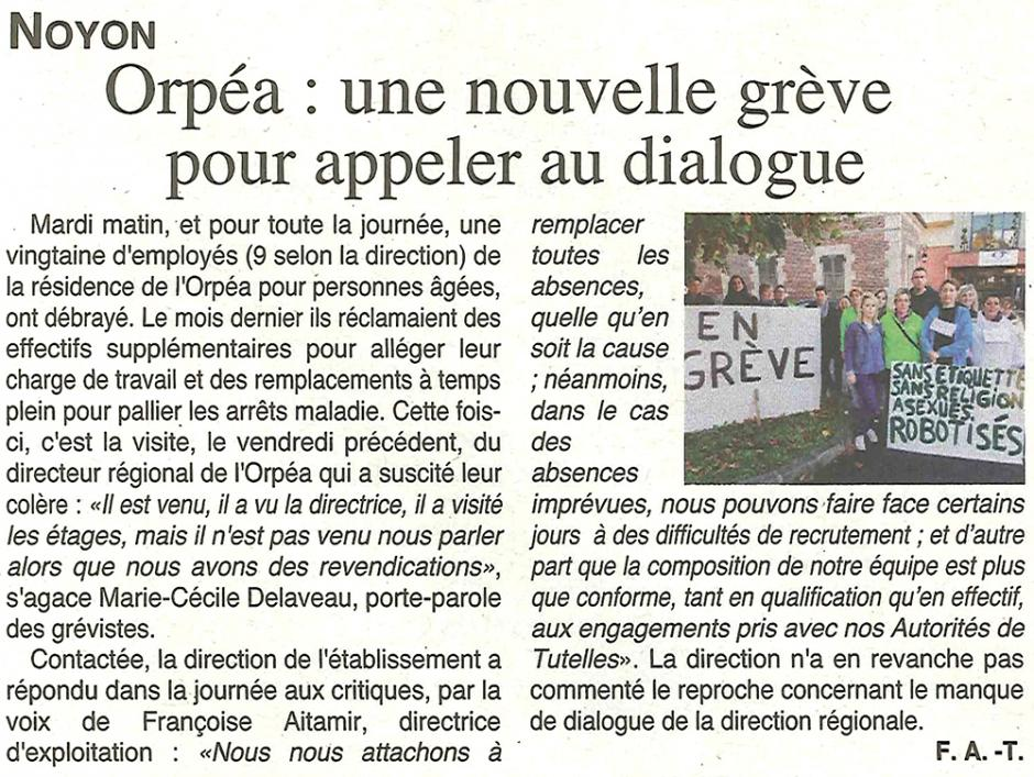 20171004-OH-Noyon-Orpéa : une nouvelle grève pour appeler au dialogue