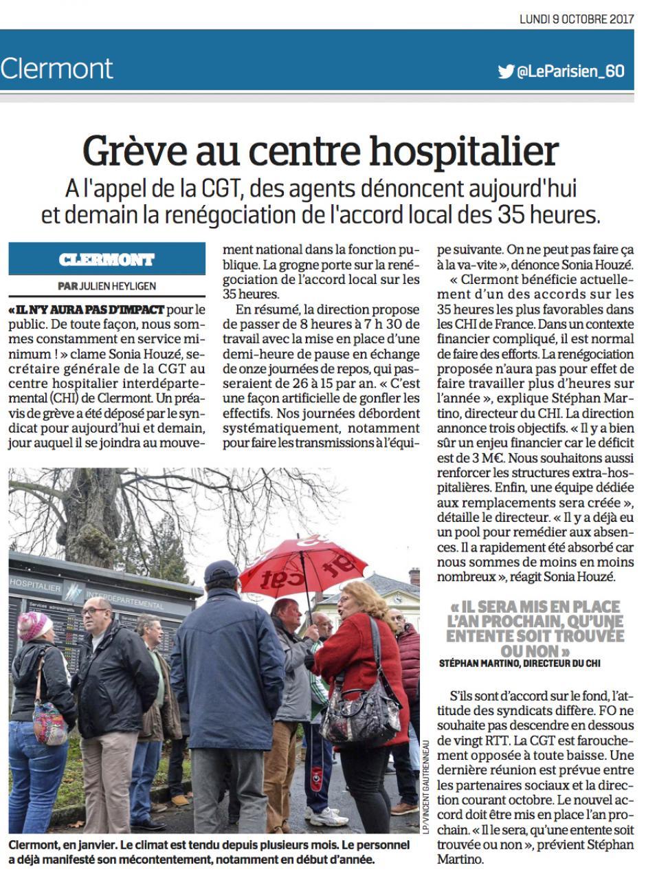20171009-LeP-Clermont-Grève au centre hospitalier