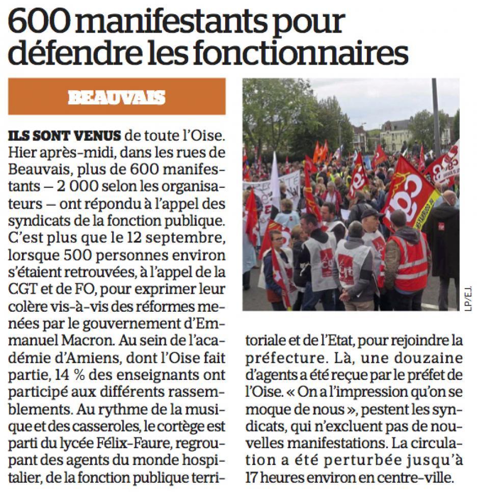20171011-LeP-Beauvais-600 manifestants pour défendre les fonctionnaires