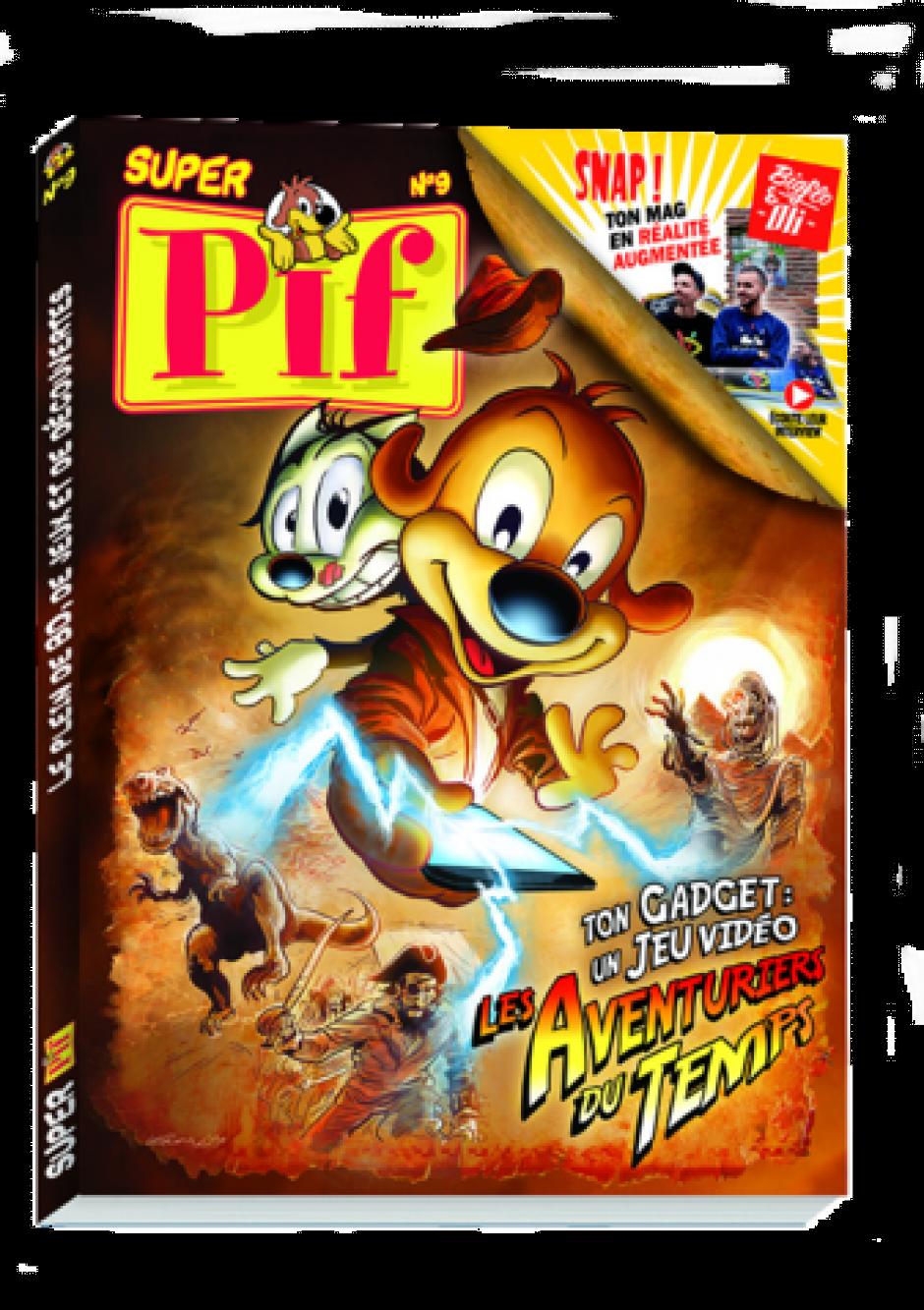 Super Pif n° 9 et son gadget étonnant ! - 5,90 €