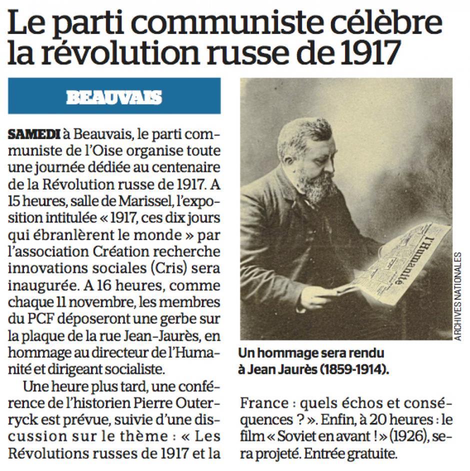 20171108-LeP-Beauvais-Le parti communiste célèbre la révolution russe de 1917