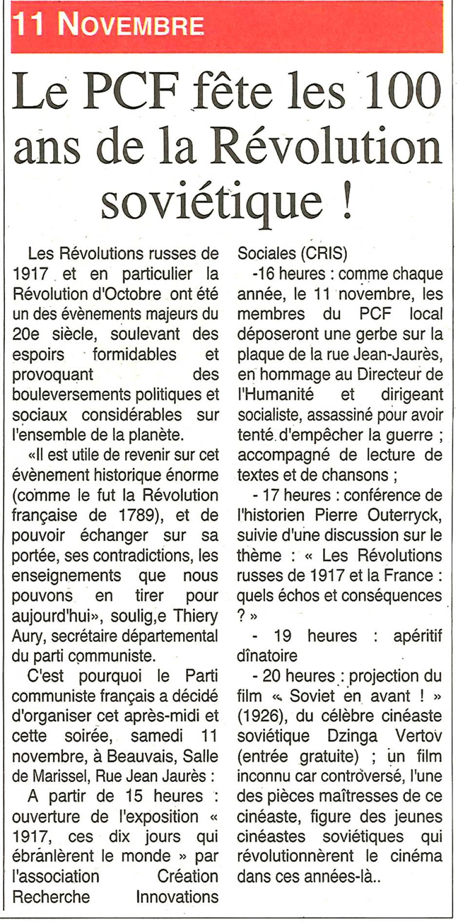 20171108-OH-Beauvais-Le PCF fête les 100 ans de la Révolution soviétique !