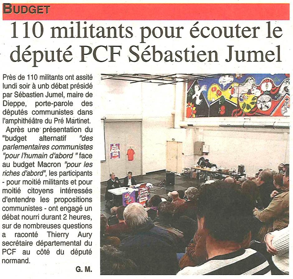 20171115-OH-Beauvais-110 personnes pour écouter le député PCF Sébastien Jumel