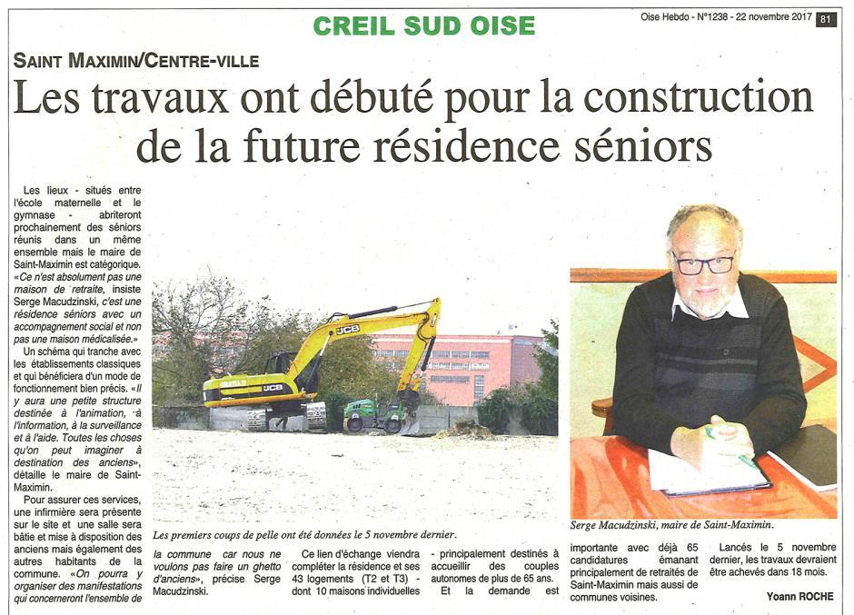 20171122-OH-Saint-Maximin-Les travaux ont débuté pour la construction de la future résidence séniors