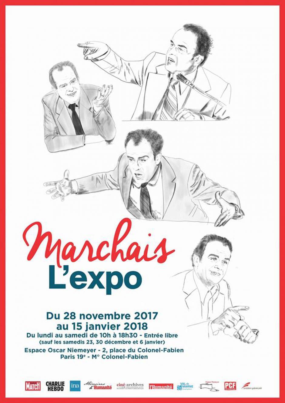 Du 28 novembre au 15 janvier 2018, Paris - Georges Marchais L'Expo