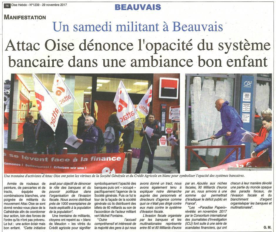 20171129-OH-Beauvais-Attac Oise dénonce l'opacité du système bancaire dans une ambiance bon enfant