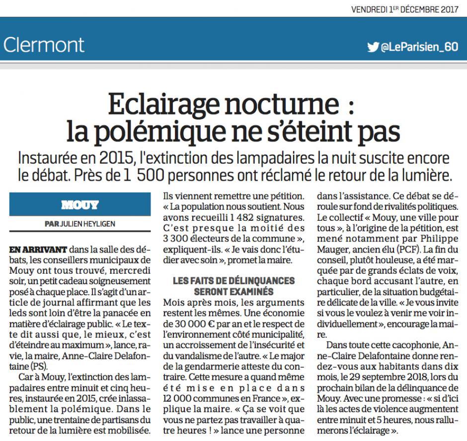 20171201-LeP-Mouy-Éclairage nocturne : la polémique ne s'éteint pas