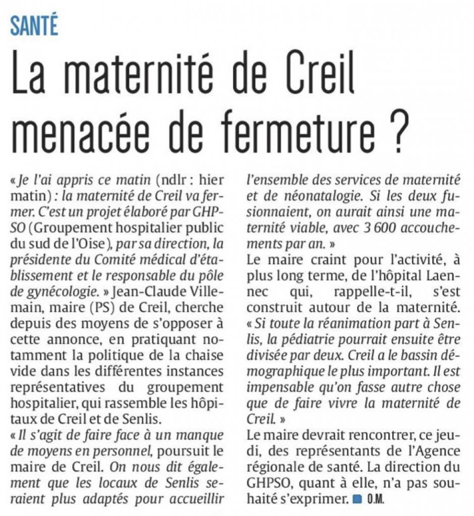 20171206-CP-Creil-La maternité menacée de fermeture ?