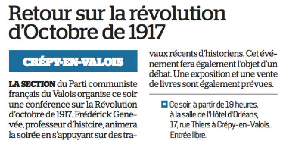 20171220-LeP-Crépy-en-Valois-Retour sur la révolution d'Octobre de 1917