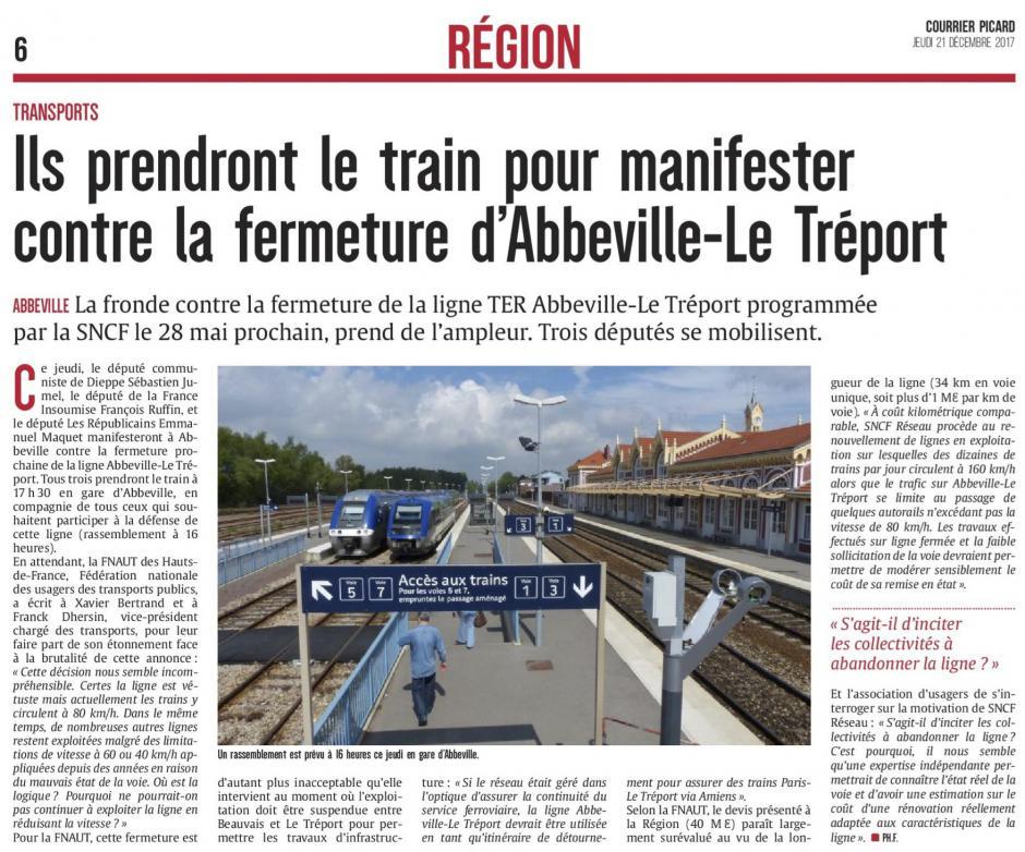 20171221-CP-Abbeville-Ils prendront le train pour manifester contre la fermeture d'Abbeville-Le Tréport