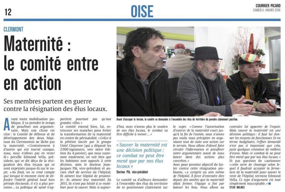 20180106-CP-Clermont-Maternité : le comité entre en action