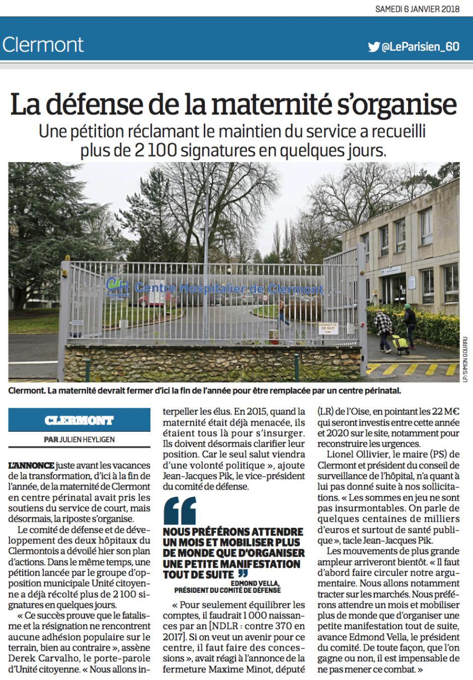 20180106-LeP-Clermont-La défense de la maternité s'organise