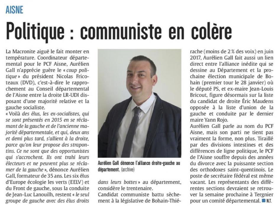 20180112-CP-Aisne-Politique : communiste en colère [édition Aisne]
