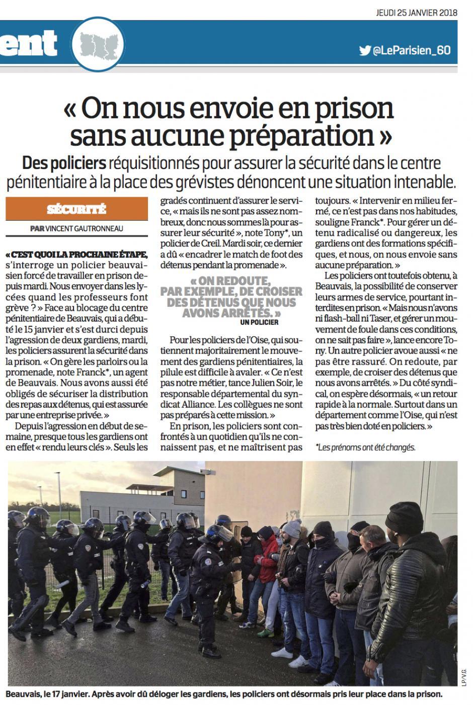 20180125-LeP-Oise-« On nous envoie en prison sans aucune préparation »