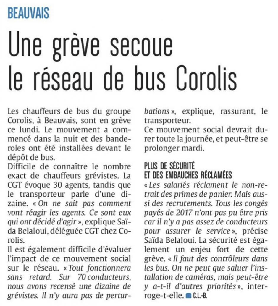 20180129-CP-Beauvais-Une grève secoue le réseau de bus Corolis