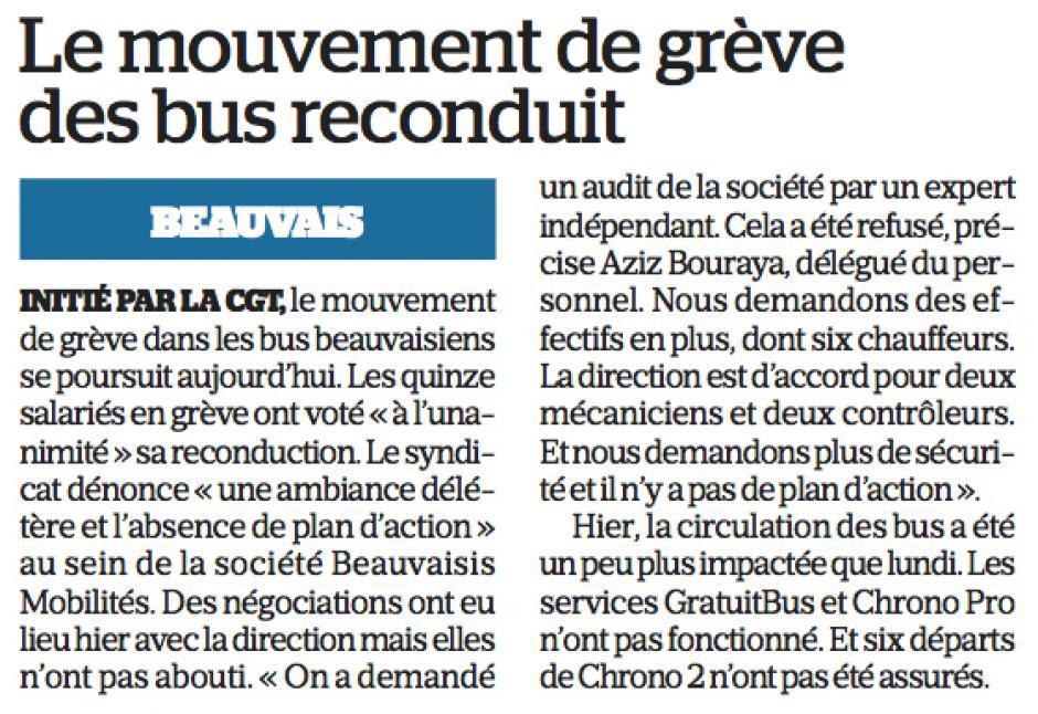 20180131-LeP-Beauvais-Le mouvement de grève des bus reconduit