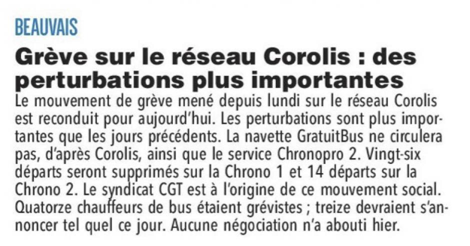 20180201-CP-Beauvais-Grève sur le réseau Corolis : des perturbations plus importantes