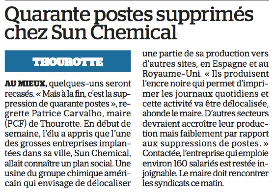 20180201-LeP-Thourotte-Quarante postes supprimés chez Sun Chemical