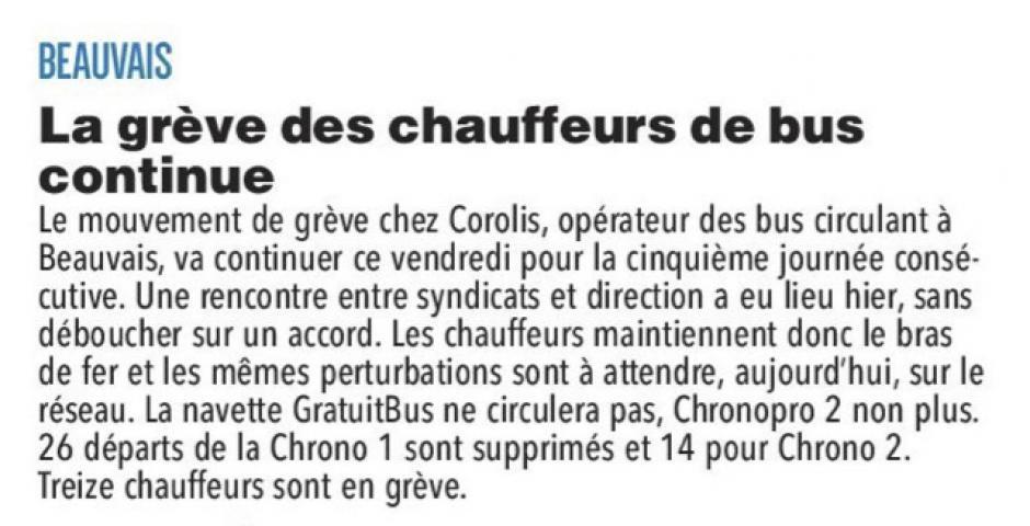 20180202-CP-Beauvais-La grève des chauffeurs de bus continue