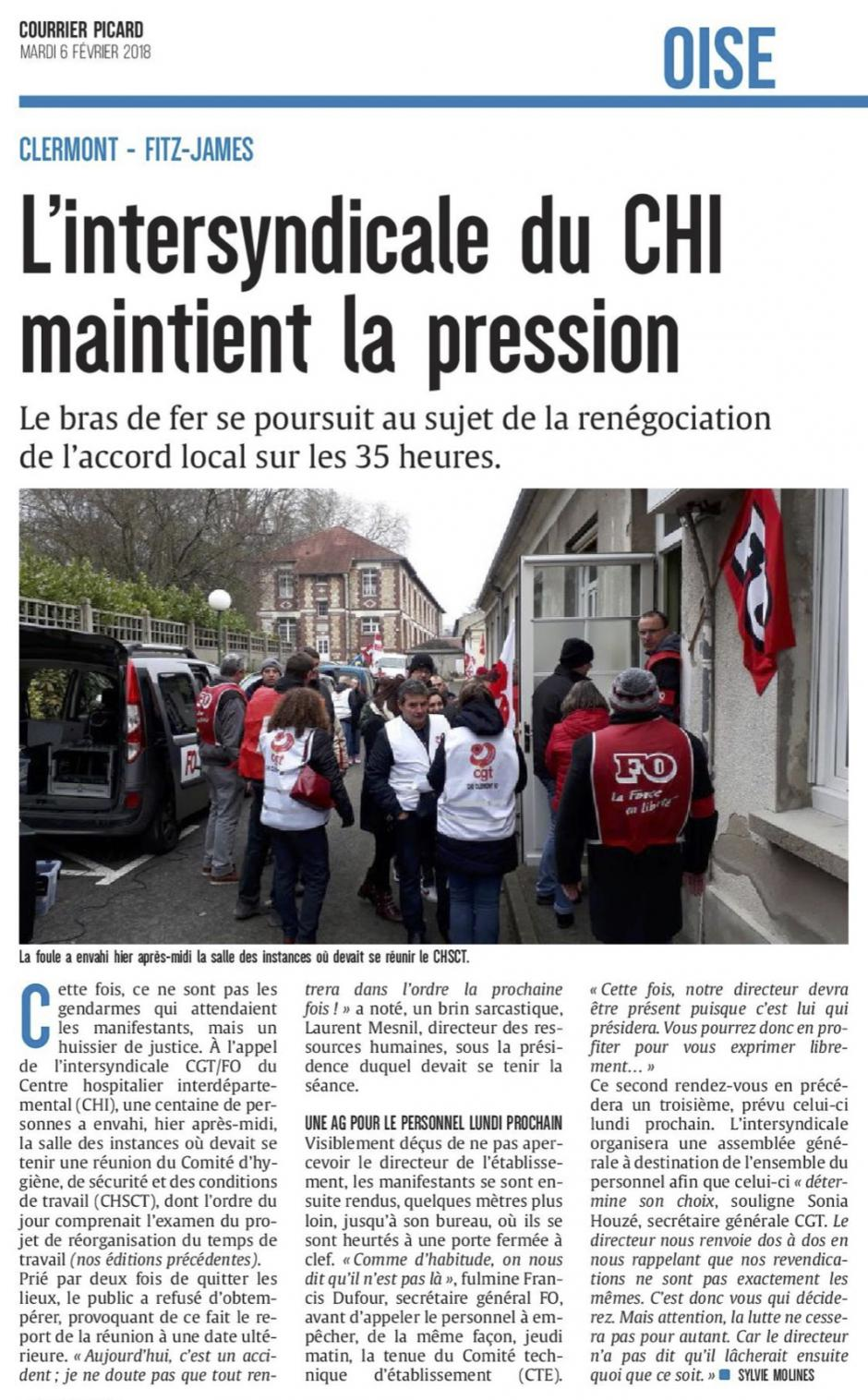 20180206-CP-Clermont-Fitz-James-L'intersyndicale du CHI maintient la pression