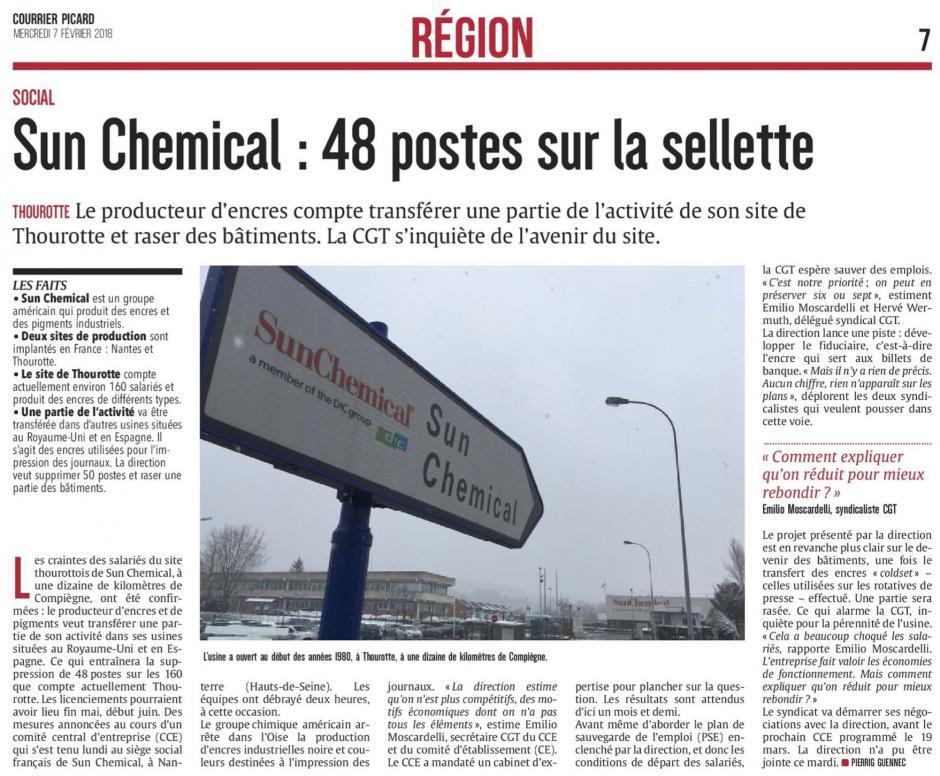 20180207-CP-Thourotte-Sun Chemical : 48 postes sur la sellette