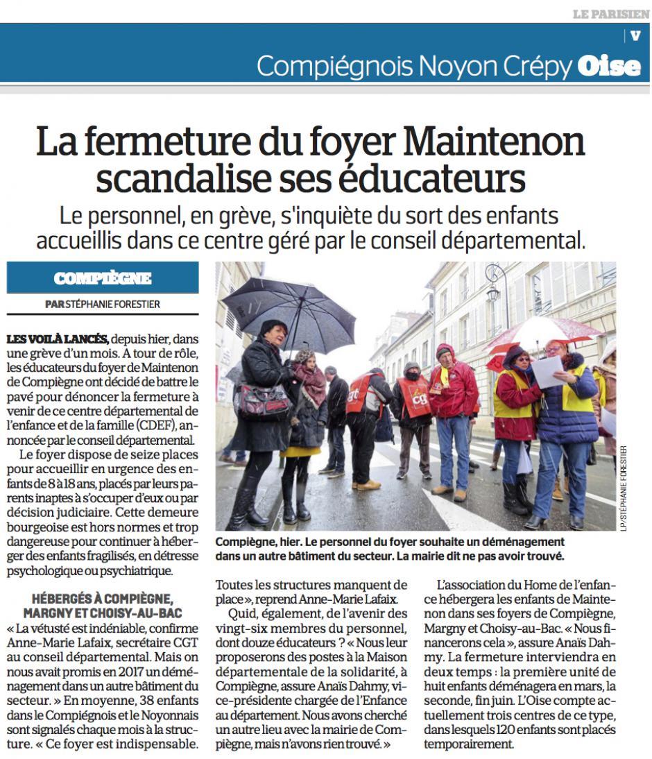 20180207-LeP-Compiègne-La fermeture du foyer Maintenon scandalise ses éducateurs