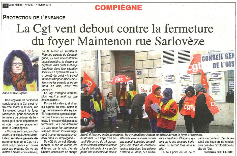 20180207-OH-Compiègne-La CGT vent debout contre la fermeture du foyer Maintenon rue Sarlovèze