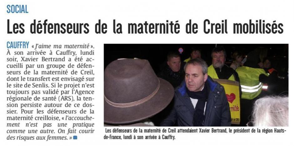 20180208-LeP-Cauffry-Les défenseurs de la maternité de Creil mobilisés