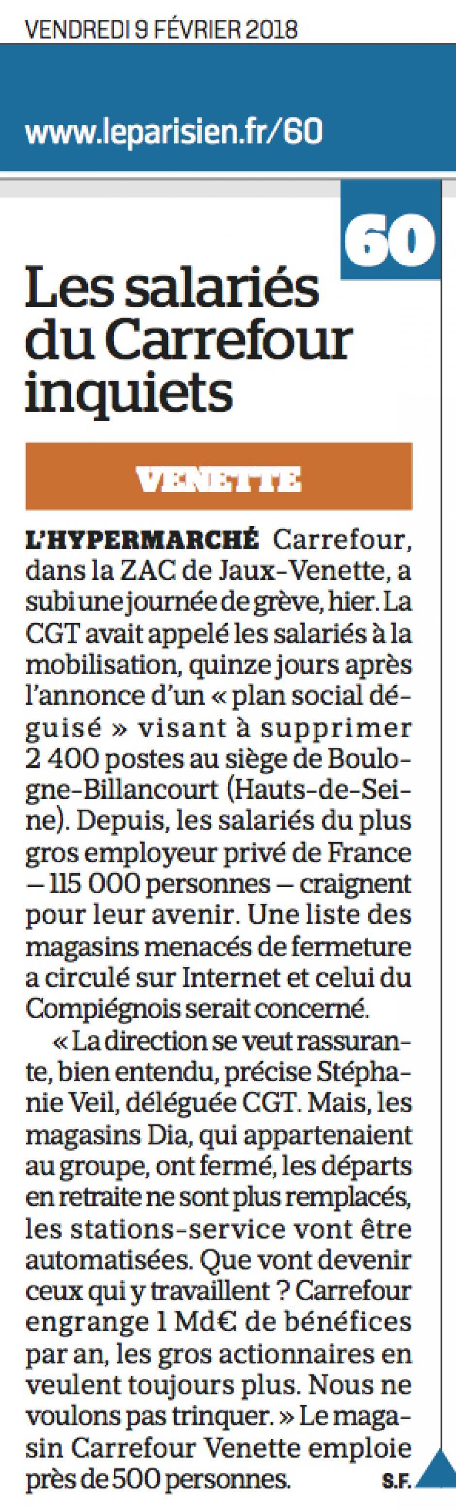20180209-LeP-Venette-Les salariés du Carrefour inquiets