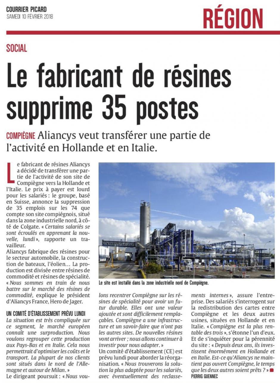 20180210-CP-Compiègne-Le fabricant de résines supprime 35 postes