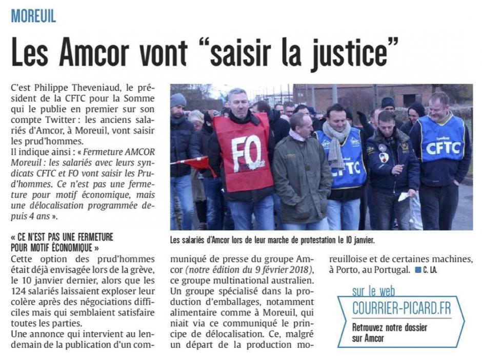 20180211-CP-Moreuil-Les Amcor vont « saisir la justice » [édition Somme]