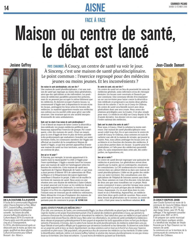 20180213-CP-Pays chaunois-Maison ou centre de santé ? [édition Aisne]