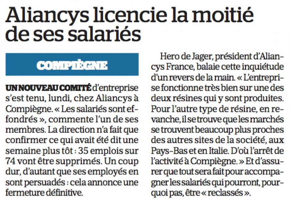 20180214-LeP-Compiègne-Aliancys licencie la moitié de ses salariés