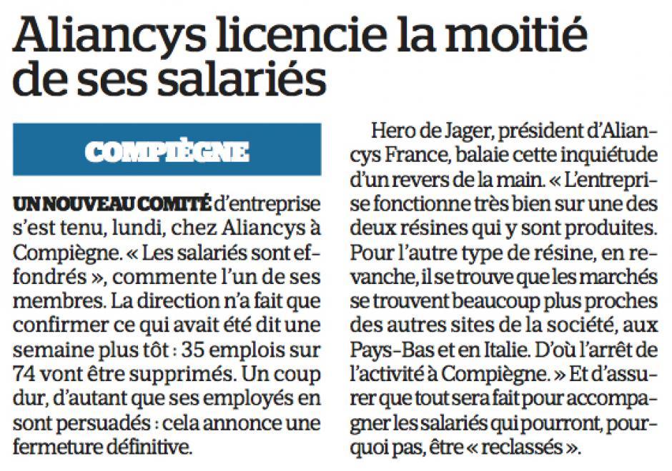 20180222-CP-Compiègne-Les salariés d'Aliancys en grève