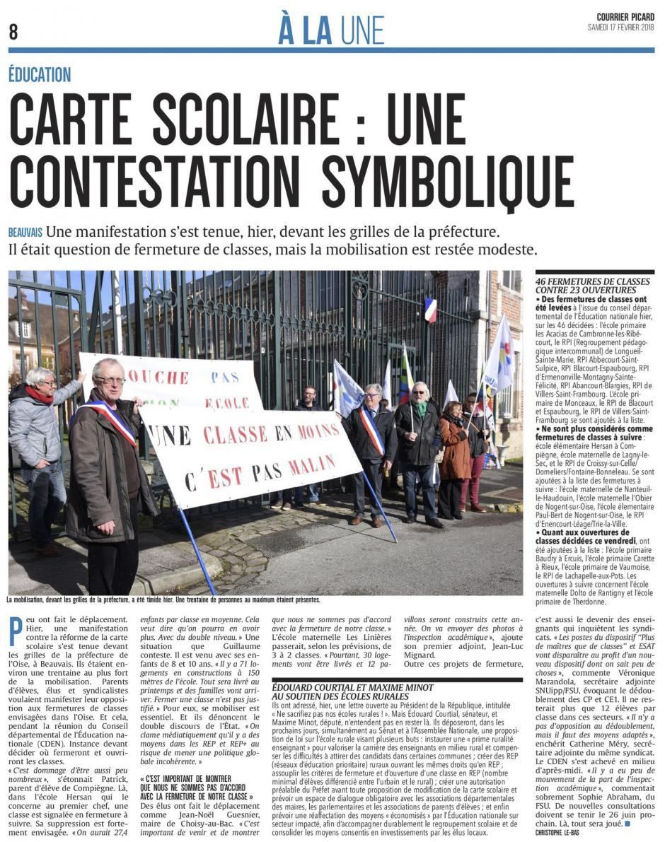 20180217-CP-Oise-Carte scolaire : une contestation symbolique