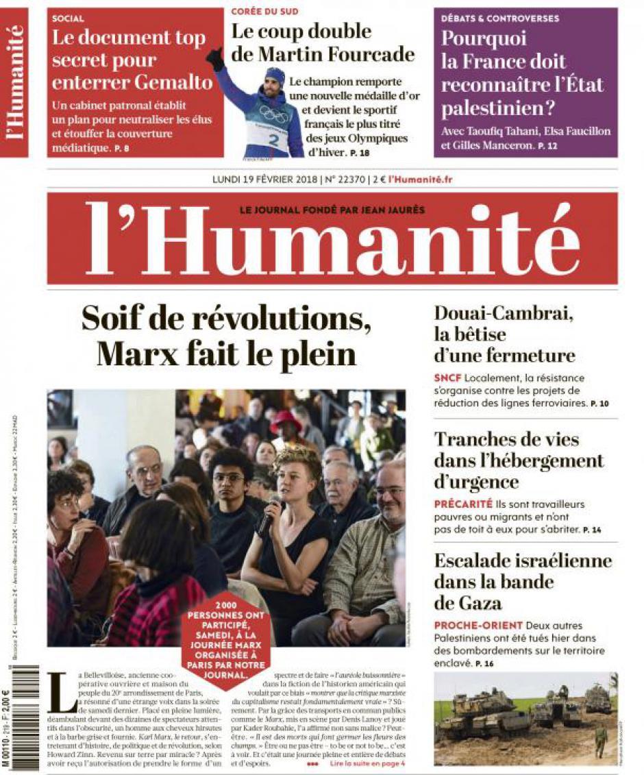 Lisez l'Humanité !