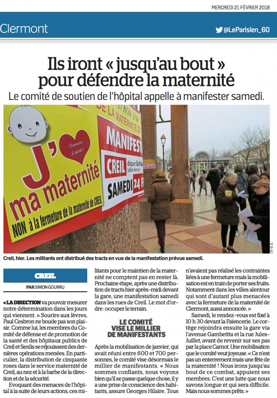 20180221-LeP-Creil-Ils iront « jusqu'au bout pour défendre la maternité »