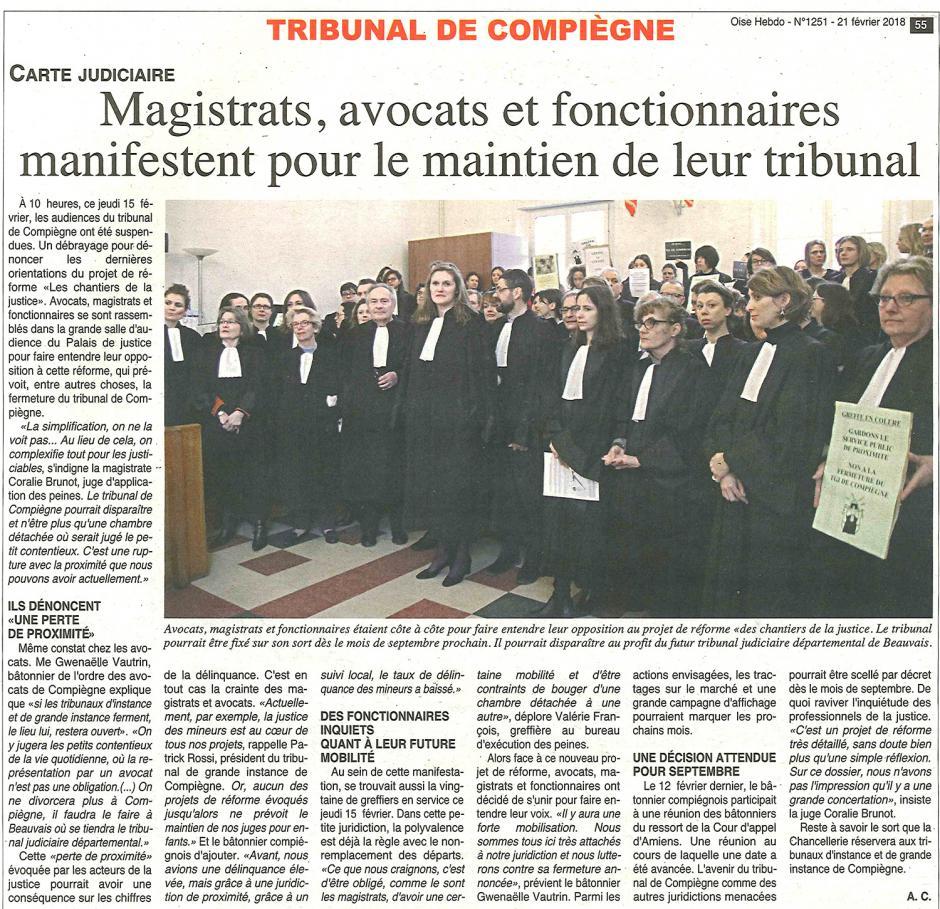 20180221-OH-Compiègne-Magistrats, avocats et fonctionnaires manifestent pour le maintien de leur tribunal